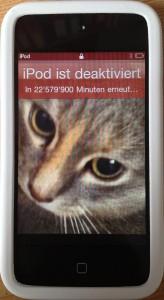 iPod-mit-Problem