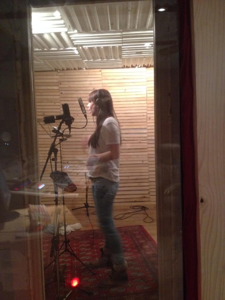 Muriel im Studio